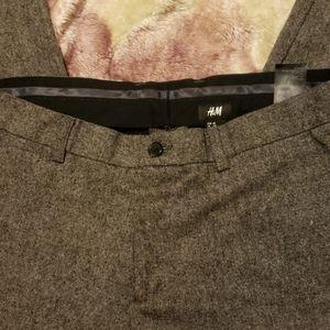 H&M tweed dress pants